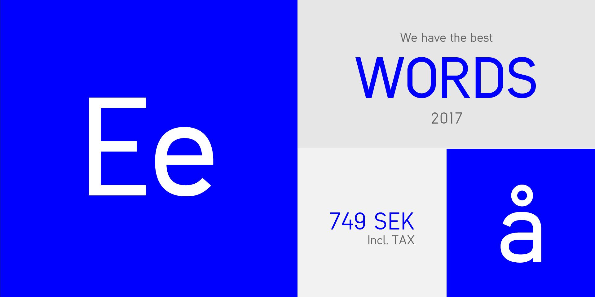 Evoke Sans Font by designbyrån evoke