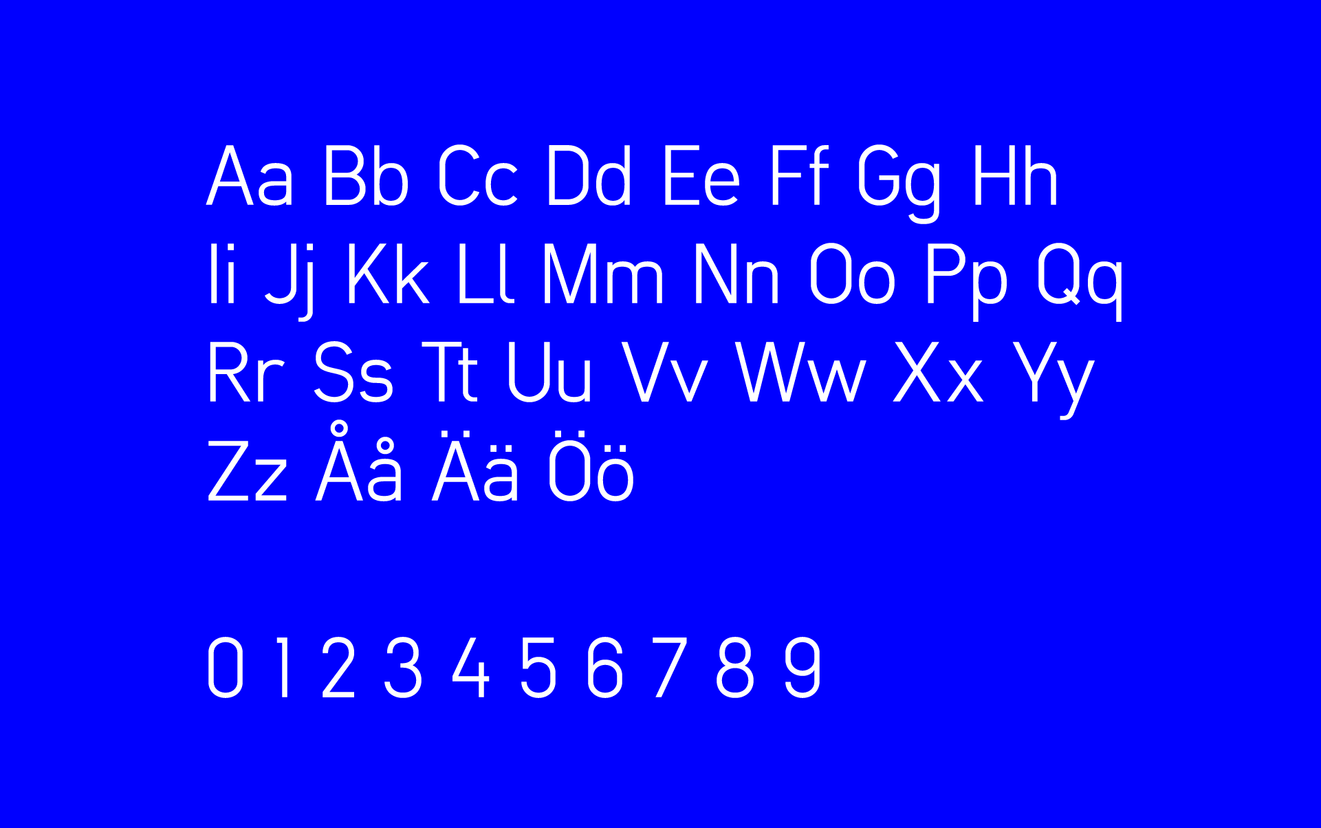Evoke sans typeface by designbyrån evoke